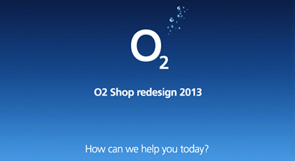 O2 Shop Redesign